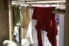 Wäsche im RV