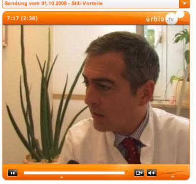 Urbia TV zu Stillen und Familienbett
