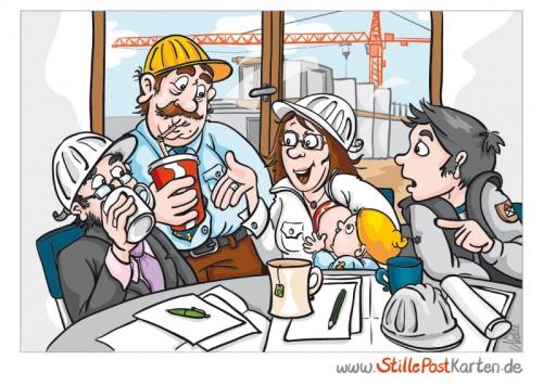 Stillen im Bauingenieurbuero