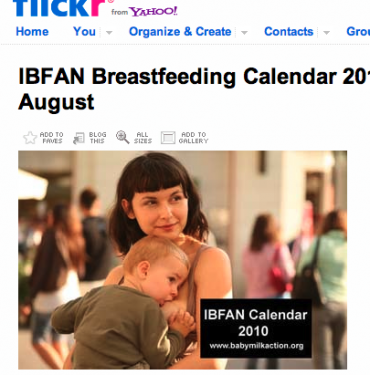 IBFAN Breastfeeding Calendar