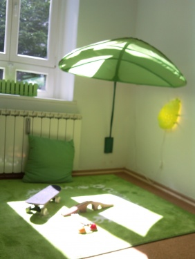 Spielecke im MutterKindBüro Berlin