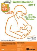 Plakat Weltstillwoche 2011
