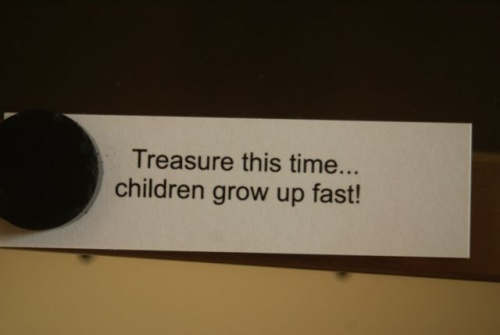 Treasure this time