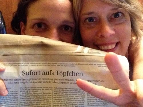 Windelfrei in der Süddeutschen Zeitung