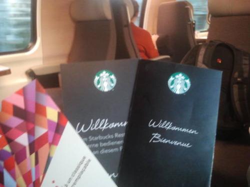 Starbucks im Zug!