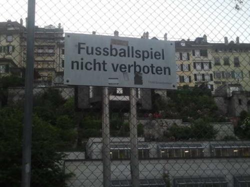 Fußball erlaubt!
