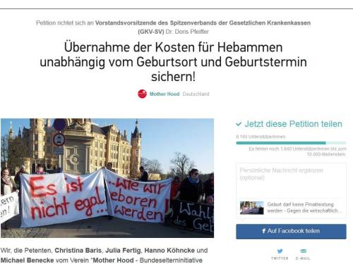 Blog Bild Petition